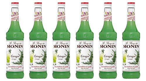 Monin Sirup Estragon, 0,7L, 6er Pack