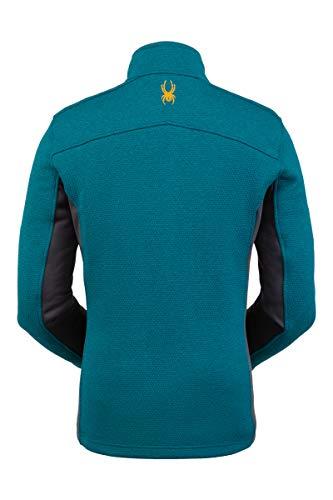 Spyder Men's Encore Fleece Jacket, Large, Swell