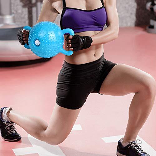 J&X Pilates Kettlebell los Deportistas en Cuclillas Equipos, Cadera casa Pesas Rusas Dispositivo de Entrenamiento de Brazo de Soporte de Ejercicio físico, Adecuado para el Ejercicio de Todo el Cuerpo