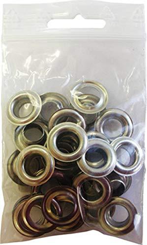 Sicutool Ösengleiter für große Ösentypen mit hoher Druckkapazität, aus robustem Stahlblech. Ösen Ø int 8,5 mm Anzahl der Ösen pro Packung Packung 50