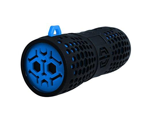 SOUND2GO WATERBOOM - Bluetooth Stereo-Speaker mit NFC-Technologie und Freisprecheinrichtung - blau-schwarz