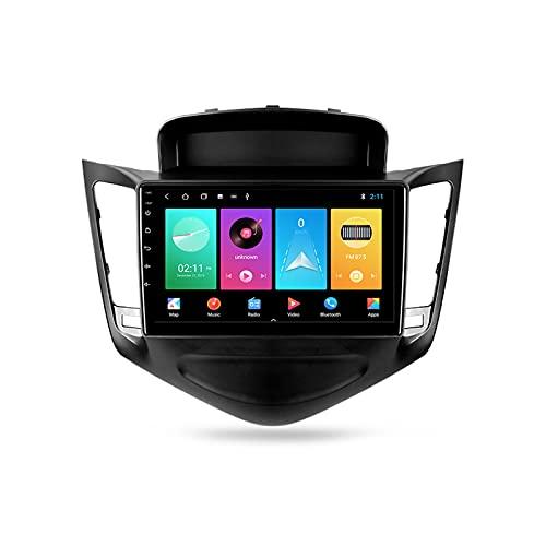 ADMLZQQ Android Autoradio 2 DIN con Bluetooth per Auto 9'' IPS Touchscreen 5G WiFi Plug And Play Completo RCA SWC Supporto Carautoplay/GPS/Dab+/OBDII per Chevrolet Cruze J300 2008-2014,M100s