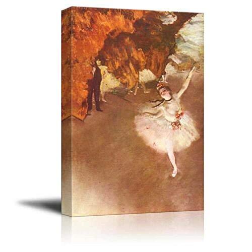 haiyilan Arte de Pared de Carteles Bailarina de Edgar Degas Pintura de Retrato Cuadro en Lienzo Grande Carteles sobre Lienzo Cuadro Moderno para Dormitorio Retrato de la Lona Obra de Arte sobre lienz