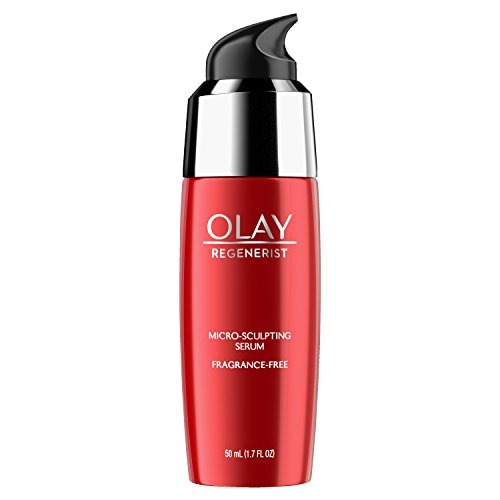 Face Serum with Collagen Peptide by Olay Regenerist, Fragrance Free Micro-Sculpting,  Advanced...