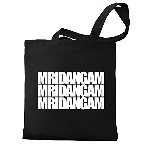 Eddany Mridangam Three Words Bereich für Taschen