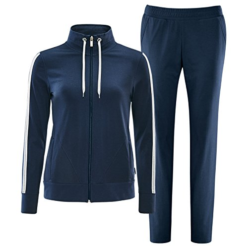 Schneider Sportswear Damen Fitness Anzug KESHIAW blau, Größe:36