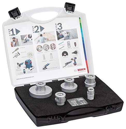 Bosch Professional 5 tlg. Diamanttrockenbohrer Dry Speed Best for Ceramic Set (für Keramik, Zubehör Winkelschleifer)