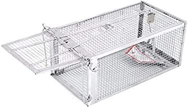 AB Traps Pro-Quality Live Animal Humane Trap Catch and Release Rats Mouse Mice Rodents and Similar Sized Pests - Safe and Effective - 10.5