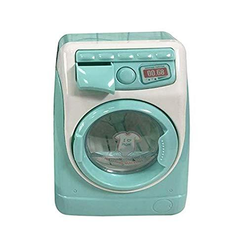 Dacyflower Lavadora Eléctrica Juguete, Pequeños Electrodomésticos para Niños Bebé, Juego De rol Tareas del Hogar Mini Washing Machine Muebles Modelo, Washing Machine Set Mini Muñecas Y in Style
