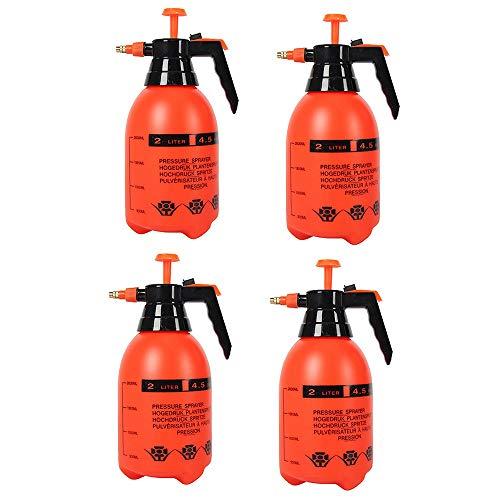 Xyanzi 2L Draagbare Tuin Pomp Van de Veldspuit, Spray Bottle, Sprayflesje, Portable Yard & Lawn Mee Gesproeid Weeds/Watering/Huis Schoonmaken/Wassen Van de Auto (Color : 4pcs)