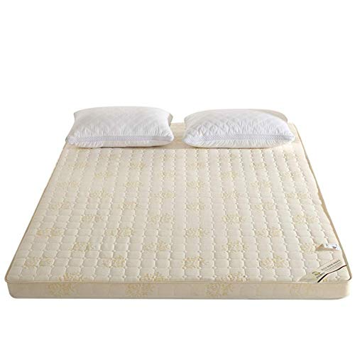 JY&WIN Memory foam Mattress,Foldable Tatami Mattress Topper Breathable Nnot easily deformed Multifunction Sleep Mattress-creamy-white 100x190x6.5cm