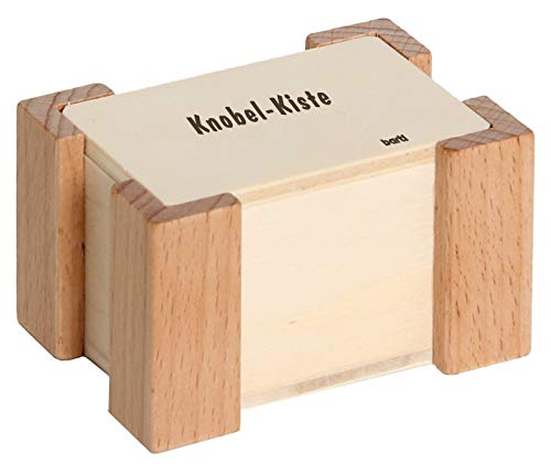 Bartl 103491 Knobel-Kiste, Streichholz-Spiele für den Familienabend