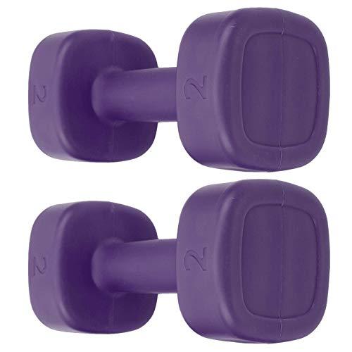 AYCPG 2pc Fitness Kettle Bell - 4LB de Peso Kettlebell - Mujeres Dumbbell Inicio Gimnasio Equipo de Entrenamiento lucar
