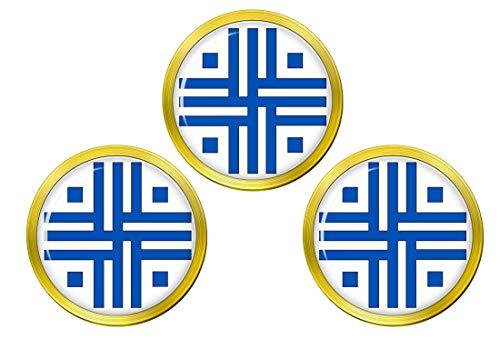 Giftshop UK Römische Sacred Cross Golfball Markierer