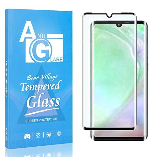 Displayschutzfolie Kompatibel mit Huawei P30 Pro, Bear Village Anti Kratzen Schutzfolie aus Gehärtetem Glas für Huawei P30 Pro, 99% Transparenz, 9H Härte, 1 Stück
