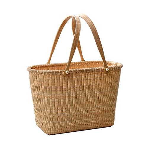Best Price LiLi_Shop Picnic Baskets Fruit Basket Outdoor Picnic Fruit Basket Fruit Basket Fruit Snac...