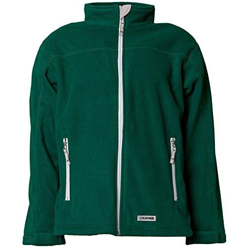 Planam fleece jack winter retro, maat XXL, groen, 3448060