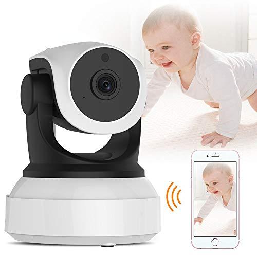 ZTKBG Baby Monitor WiFi 2-weg audio-smart-camera met bewegingsdetectie veiligheid IP-camera draadloze baby-camera, 32g