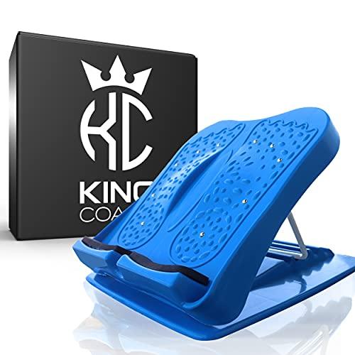 King Coach - hochwertiger Wadendehner für Kinder und Erwachsene - Dehnbrett zum stretchen für mehr Beweglichkeit beim Sport
