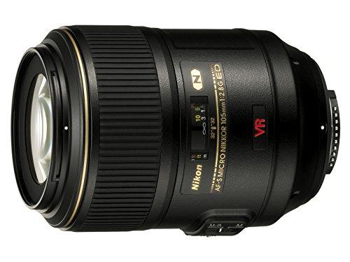 Nikon Obiettivo Nikkor AF-S VR II Micro-Nikkor 105 mm f 2.8G IF-ED, Nero [Nital Card: 4 Anni di Garanzia]