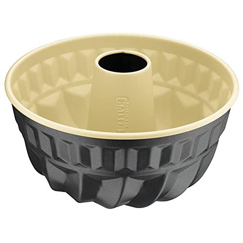 Kaiser Inspiration Plus Gugelhupfform 22 cm, Gugelhupf Backform rund, Kuchenform antihaftbeschichtet, gleichmäßige Bräunung