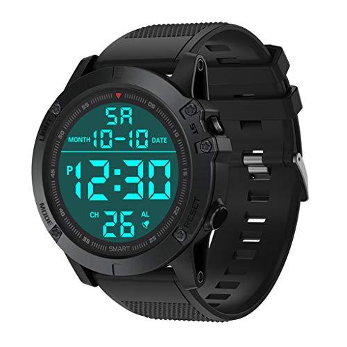 TTMall Orologi da uomo sportivo digitale Activity tracker Sport Contapassi, Orologio sportivo da uomo di lusso con orologio sportivo di lusso digitale LED