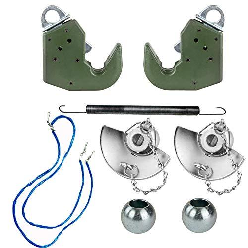 Dema Schnellkuppler-Umbausatz Fanghaken Kat. 1 Unterlenker univ li und re 8-tlg.