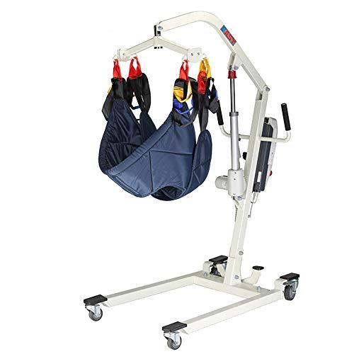 FC-Bed Elektro-Patientenlift Hydraulic Medical Body Lift mit Full Mesh-Riemen, Öffnungs Low Basis für den Heimgebrauch, 410lb Gewicht Kapazität