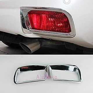 For Toyota Land Cruiser 150 Prado FJ150 2010-2018 Rear Fog Lamp Cover Light Overlay Trim Chrome Car Styling Prado Accessories