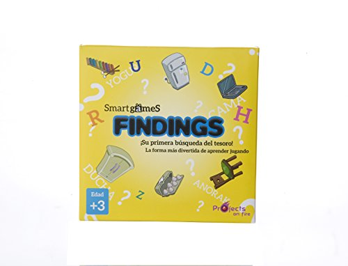 Findings - La primera búsqueda del tesoro para niños a partir de 3 años