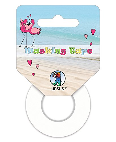 Ursus Masking Tape 58650099 Set, Flamingo, 2 Rouleaux