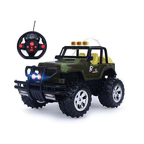 LRHD Juguetes educativos para niños para automóviles de control remoto y vehículos fuera de carretera 2.4GHz 4WD de alta velocidad Radio controlado Corriente Crawler Rock Truckmonster Truck Juguete pa