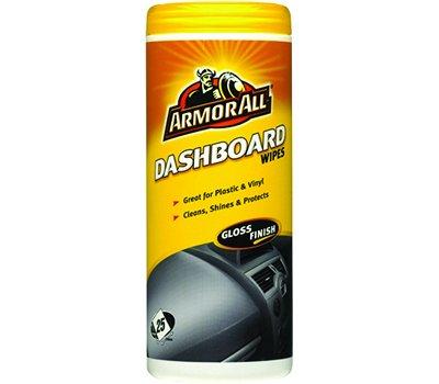 Bote de 25x Armor All Salpicadero Toallitas Limpia, brilla & protege adhesivos & Lubricants