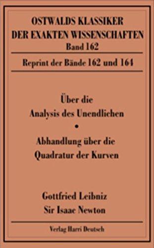Über die Analysis (Leibniz, Newton)