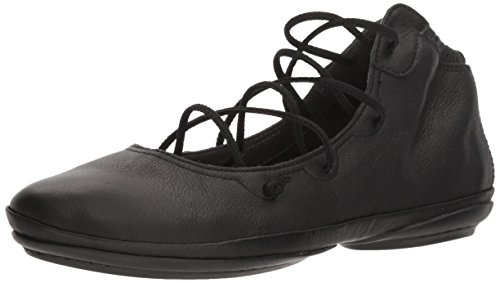 CAMPER Damen Right Ballet Flat, Black, 39 EU