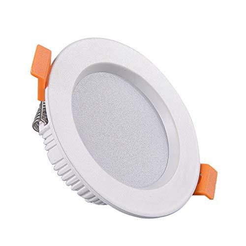 ABTSICA - Faretto da incasso a LED, 10 pezzi, per installazione semplice e retrofit per interni, 6000 K, 7,6 cm