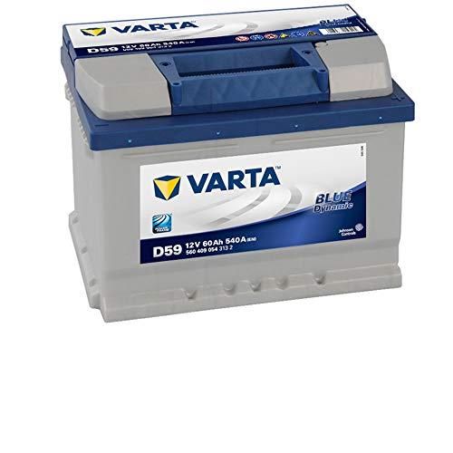 BATERIA VARTA BLUE 60AH D59