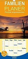 Florida Impressionen - Familienplaner hoch (Wandkalender 2022 , 21 cm x 45 cm, hoch): Szenen aus Florida - Natur und oeffentliches Leben (Monatskalender, 14 Seiten )
