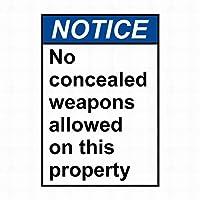 セーフティサイン屋外の壁の装飾は、このプロパティの看板に警告金属錫サイン警告警告