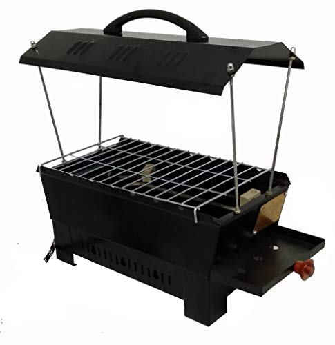 Hot Life Electic and Non Electric Charcoal Barbeque Grill & Tandoor (Black, Iron) Multipurpose Big Electric Grill