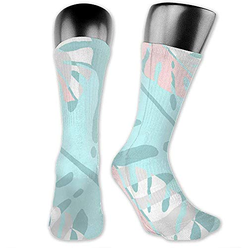 NA Floral Seamless Patroon Vector Image978; Unisex Crew Sokken 40 CM Performance werksok Athletic Classic Sock