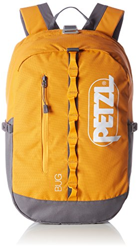 PETZL Bug Adult's Backpack, unisex_adult, Bug Orange, S71 O, Orange, 32 × 21 × 1 cm, 18 Liter