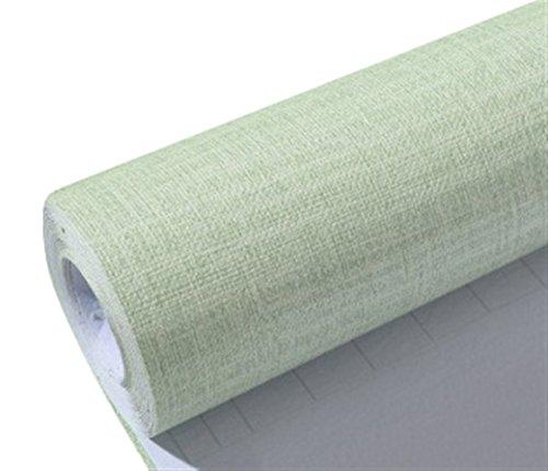 Liveinu Aufkleber Küchenschränke PVC Tapeten Küche Selbstklebend Klebefolie Möbel Wasserfest Aufkleber für Schrank Küchenschränke Möbel Selbstklebende Folie Küchenschrank Holzmuster Grün 0.6x10m