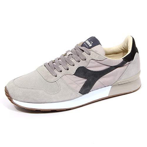 Diadora Heritage Herrenschuhe Herren Wildleder Sneakers Schuhe Camaro h Grau EU 42 201.173895