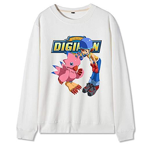 Anime 2020 Digimon Adventure Invierno Sudadera Cosplay Disfraz Halloween Regalo de Cumpleaos para Mujeres Hombre Estilo Completo