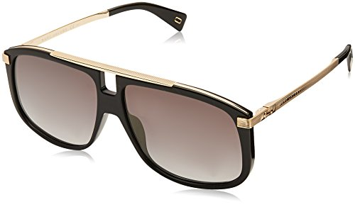 Marc Jacobs Marc 243/S FQ 2M2 60 Occhiali da Sole, Nero (Black Gold/Grey Grey), Uomo