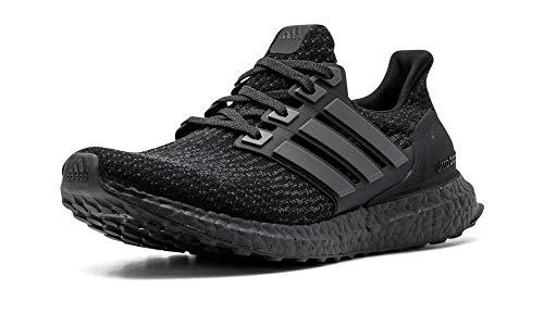 adidas mens Ultraboost road running shoes, Black/Utility Black, 8 US
