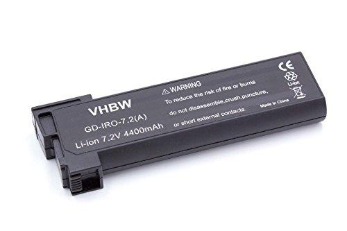 vhbw Li-Ion Batterie 4400mAh (7.2V) compatible avec iRobot Looj 330 tondeuse robot, aspirateur remplace 14570.