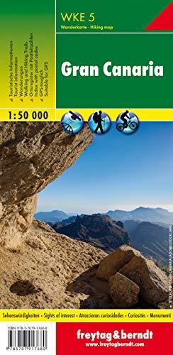WKE 5 Gran Canaria 1.50.000: wandelkaarten 1:50 000