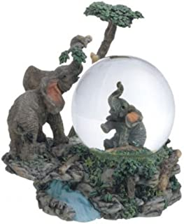 Best George S. Chen Imports Snow Globe Elephant Collection Desk Figurine Decoration Review